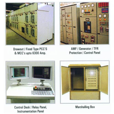Medium and low voltage power panels manufacturers and suppliers