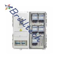 Electric Meter Box - Three Phase, Russia